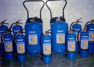 شارژ کپسول آتش نشانی آب و گاز
